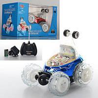 """Машинка - перевертыш на радиоуправлении детская игрушка""""Танцующий автомобиль"""" (2 цвета)  арт. 9295"""