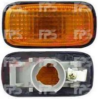 Указатель поворота на крыле Nissan Almera N15 '95-99 левый/правый, желтый (DEPO)