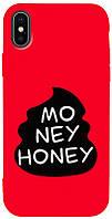 Чехол-накладка TOTO Matt TPU 2mm Print Case Apple iPhone X/XS #43 Moneyhoney Red #I/S