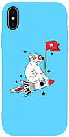 Чехол-накладка TOTO Matt TPU 2mm Print Case Apple iPhone X/XS #46 Koala Sky Blue #I/S