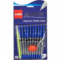 Ручка/масл./Cello MAXRITER /упак10+1/ синяя