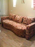 Перетяжка дивана Юлия.Изменение дизайна.