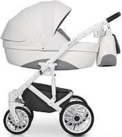 Детская универсальная коляска 2 в 1 Riko Xenon 01 White