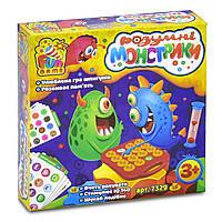 """Настольная игра детская для развития памяти """"Умные монстрики"""" Fun Game арт. 7329"""