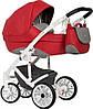 Детская универсальная коляска 2 в 1 Riko Xenon 03 Scarlet, фото 5