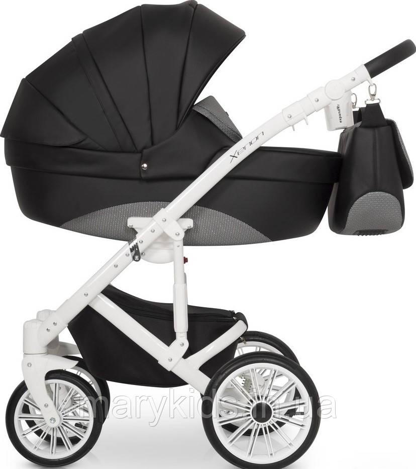 Детская универсальная коляска 2 в 1 Riko Xenon 04 Carbon