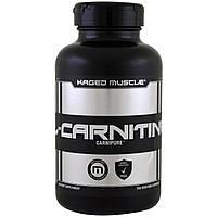 Kaged Muscle, L-карнитин, 250 капсул в растительной оболочке