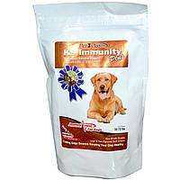Aloha Medicinals Inc., K9 Immunity Plus, для собак, мягкие жевательные пластинки со вкусом печени и рыбы, 60 пластинок