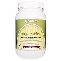 MRM, Вегетарианский заменитель пищи, шоколадное мокко, 3 фунта (1361 г)