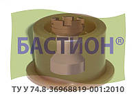 Втулка кронштейна секции СУПН-8 ССГ-00.011
