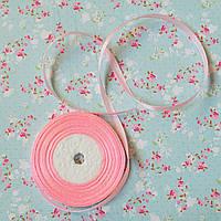 Стрічка атласна №11 (ніжно-рожева) 6мм.