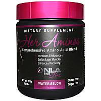 NLA for Her, Аминокислоты для нее, универсальный комплекс аминокислот, дыня, 0,57 фунта (258 г)