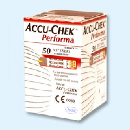 Тест-полоски Accu-Chek Performa (Акку-Чек Перформа)