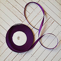 Стрічка атласна №14 (темно-фіолетова) 6мм., фото 1