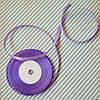 Лента атласная №18 (фиолетовая) 6мм.