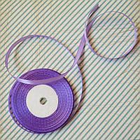 Лента атласная №18 (фиолетовая) 6мм., фото 1