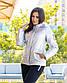 "Женская тёплая куртка холлофайбер 2278 ""ORIGINAL SILVER"", фото 2"