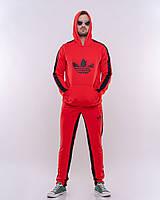 Мужской спортивный костюм  красный с черным Сл 1577, фото 1