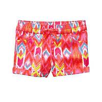 Детские яркие летние шорты Gymboree для девочки