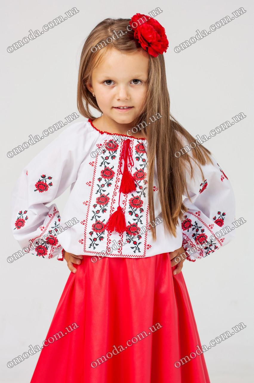 Классическая вышиванка детская Оксаночка - Интернет-магазин «Omoda» в Киеве deab89ab9c226