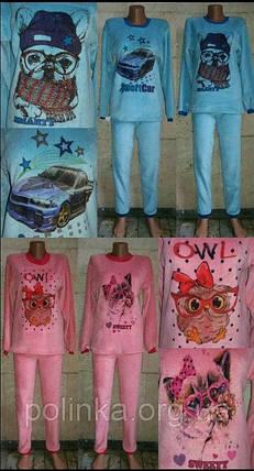 Очень тёплая подростковая пижама, фото 2