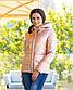 "Женская тёплая куртка холлофайбер 2277 ""ORIGINAL SILVER"", фото 4"
