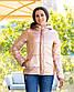 "Женская тёплая куртка холлофайбер 2277 ""ORIGINAL SILVER"", фото 6"