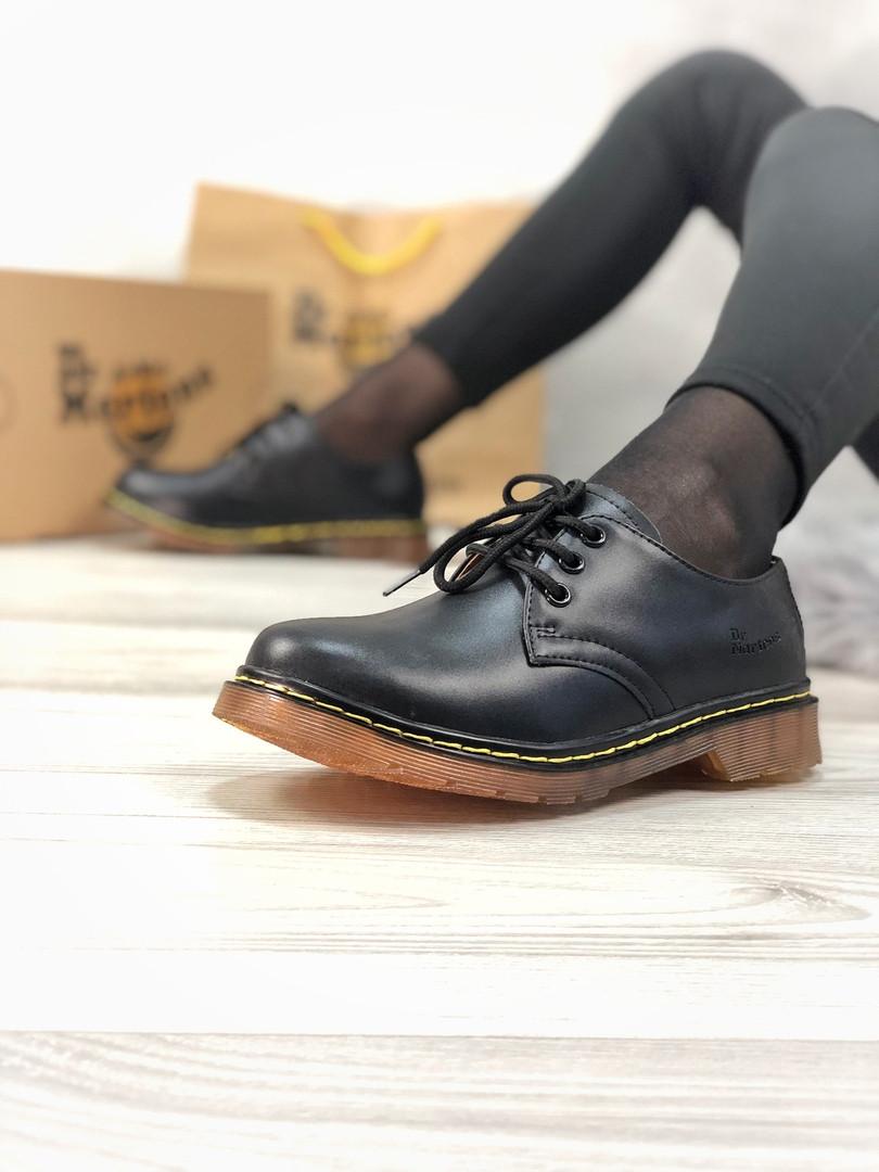 Ботинки женские Dr. Martens.Туфли  Dr. Martens  ТОП КАЧЕСТВО!!! Реплика класса люкс (ААА+)