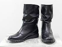 Ботинки женские Gino Figini М-21из натуральной кожи 37 Черный, фото 3