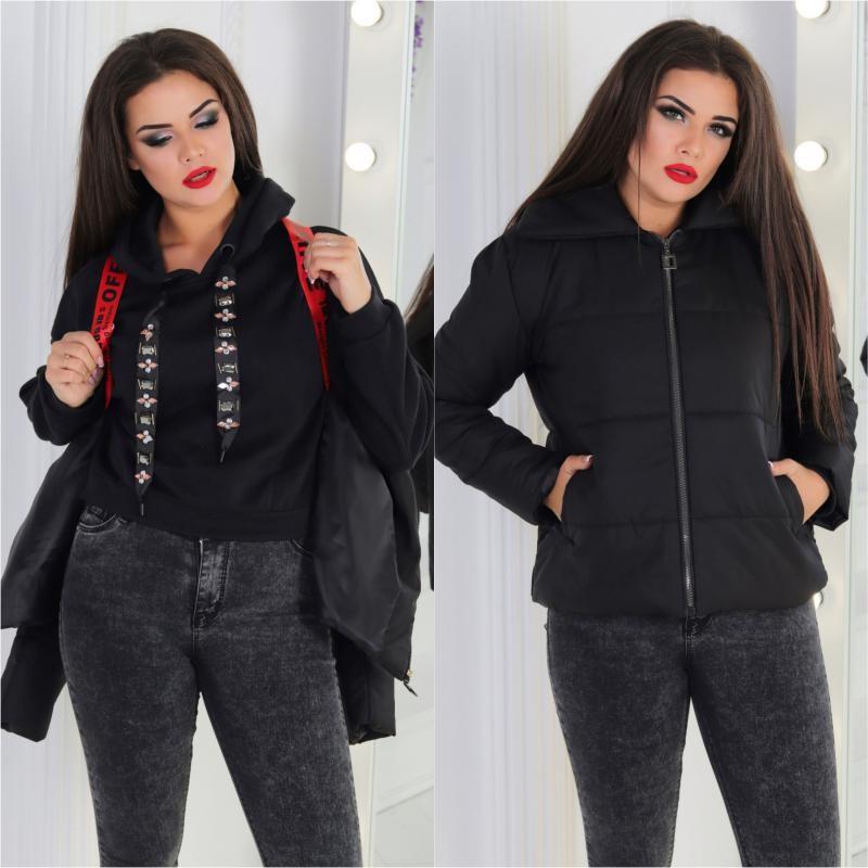 Куртка молодежная женская «Ранец» мод.352+
