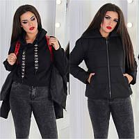 Куртка молодежная женская «Ранец» мод.352+, фото 1