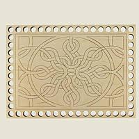 Прямоугольное донышко для вязанных корзин Shasheltoys (100343.125) 125х175 мм