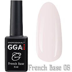 Френч  база GGA Professional 08, 15 мл