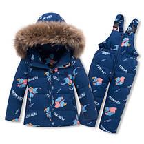 Детский костюм зимний на пуху, фото 3