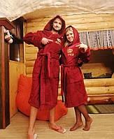 """Махровые именные халаты для пары """"Буся"""", фото 1"""