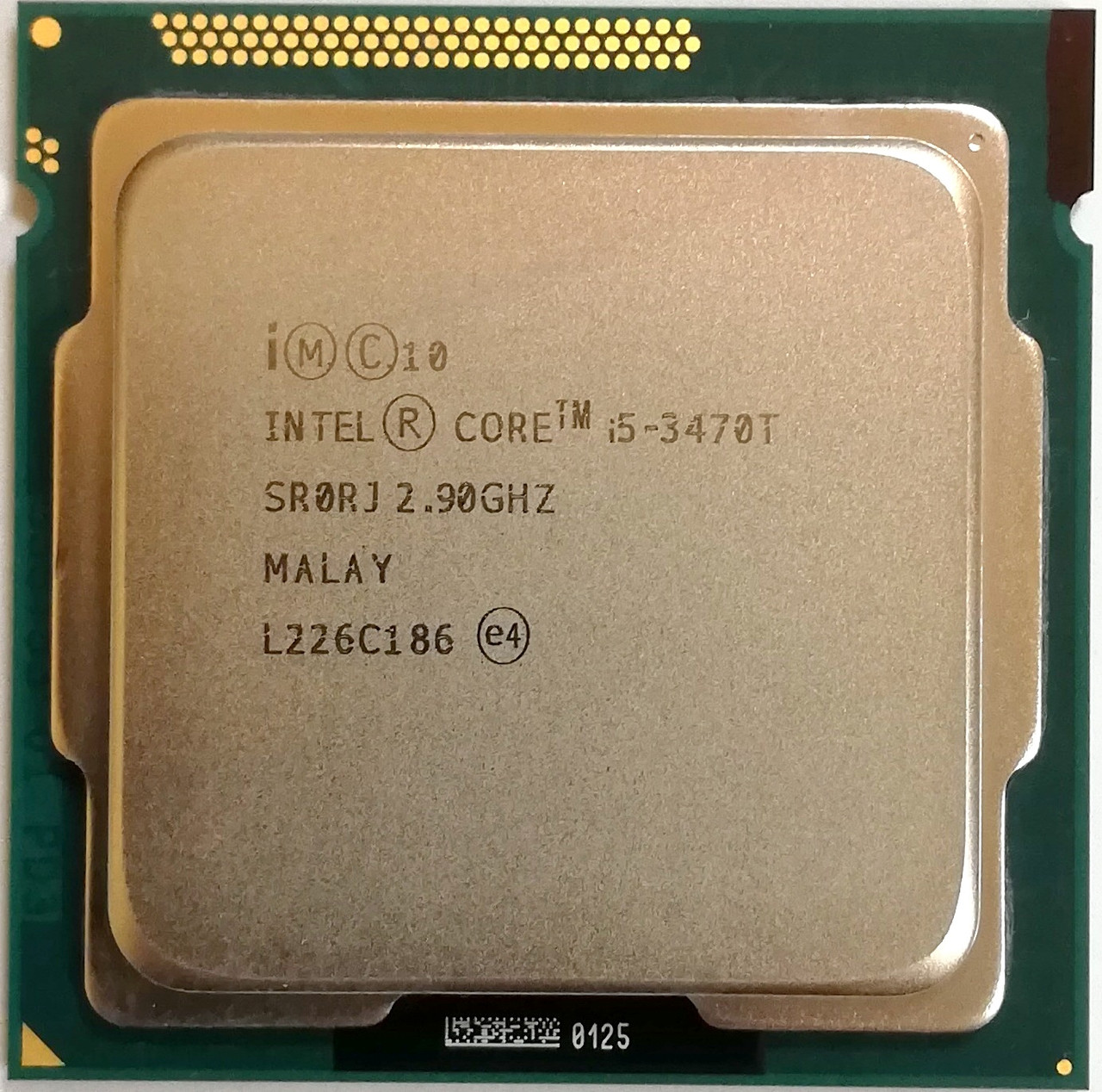 Процессор Intel Core i5-3470T L1 SR0RJ 2.9GHz up 3.6GHz 3M Cache Socket 1155 Б/У