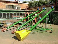 Шнековий транспортер 140 мм 220 В, довжина 6 м