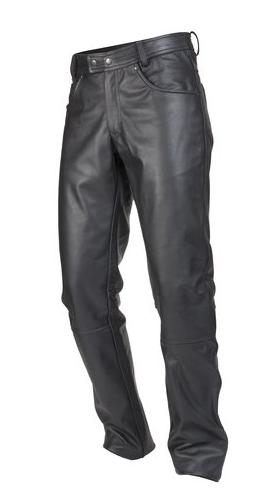 Мотоштаны кожаные Ozone Daft (Black)