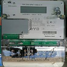 Двухтарифный трехфазный счетчик NIK 2300 AP6T.1000.С.11