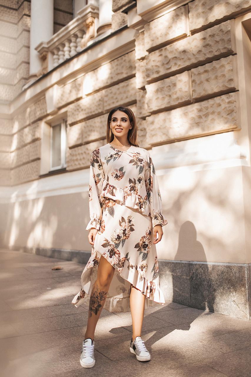 Стильное платье 5053