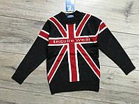 Вязаный свитер для мальчиков. 1 год