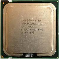 Процессор Intel Core 2 Duo E6550 G0 SLAAT 2.33GHz 4M Cache 1333 MHz FSB Socket 775 Б/У, фото 1