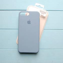 Накладка оригинальная Apple Silicone Case для iPhone 7 Plus, 8 Plus Azure blue