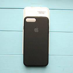 Накладка оригинальная Apple Silicone Case для iPhone 7 Plus, 8 Plus Black