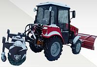 Коммунальная щетка с системой полива для мини-тракторов МТЗ 320, Foton, Dongfeng, Kubota