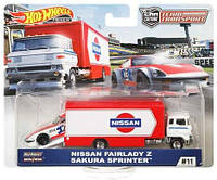 Колекційні моделі Hot Wheels Nissan Fairlady z Sakura Sprinter