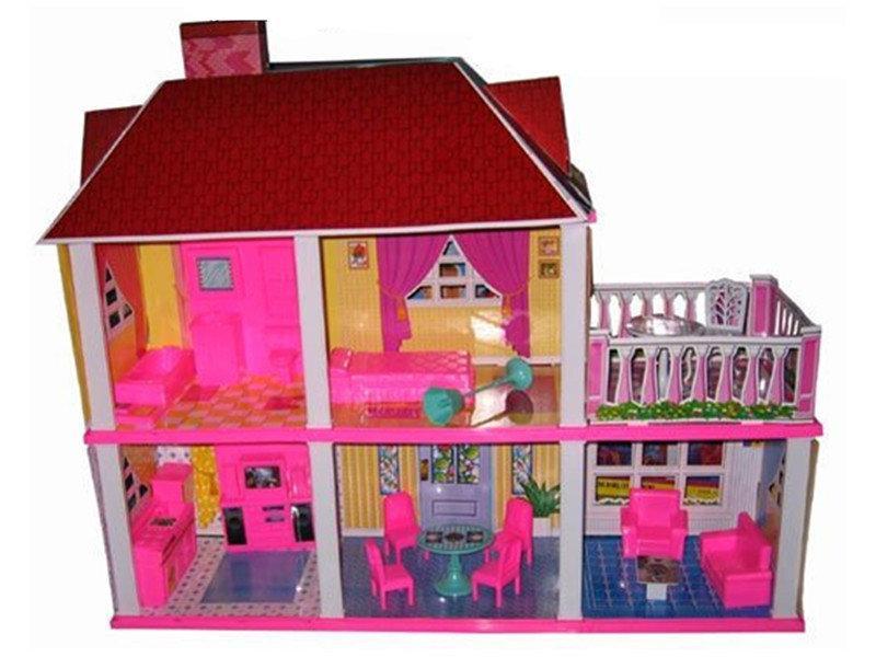 Игровой домик для кукол 2 этажа GT184136