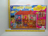 Дом для кукол 2 этажа