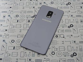 Б.У. Корпус Samsung A530F Galaxy A8 2018 крышка задняя серая Оригинал