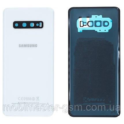 Задняя крышка Samsung G975F Galaxy S10 Plus ceramic white, фото 2